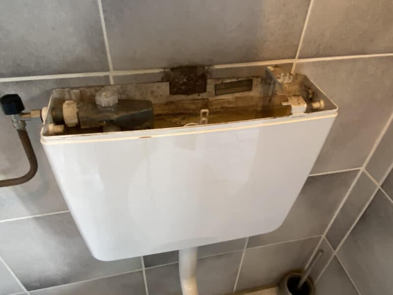 Reparatie WC